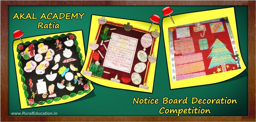School bulletin board designs 2013 just b cause for Notice board decoration